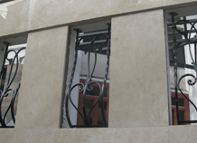 khung chống trộm sắt đẹp bh-10177