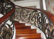 cầu thang sắt rèn bh-10189