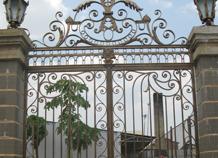 cổng sắt nhà vườn bh-10209