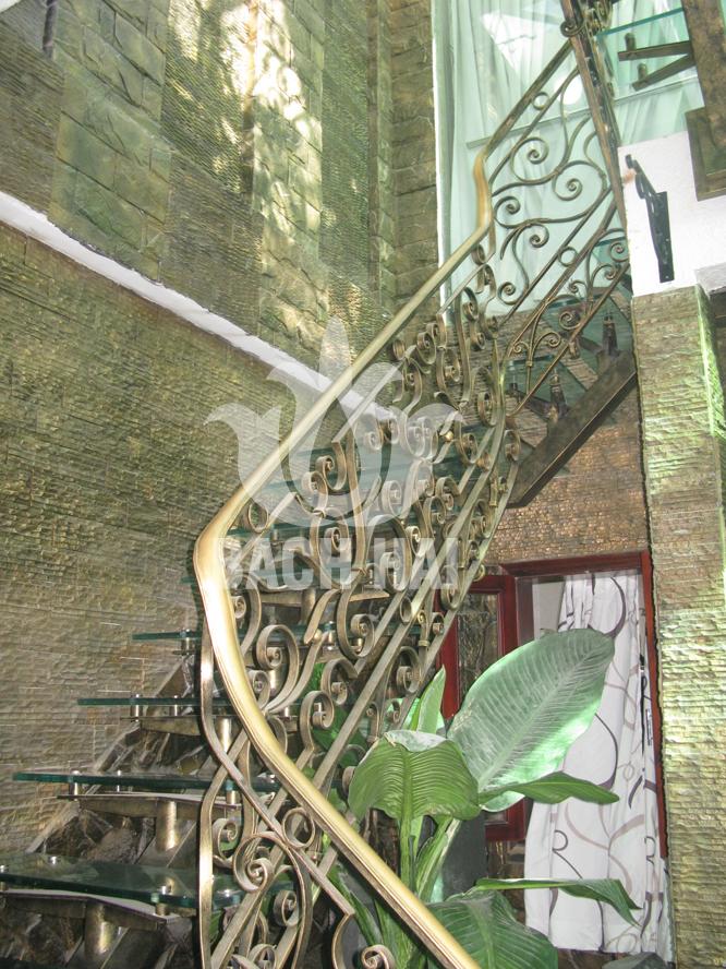cầu thang sắt rèn bh-10161