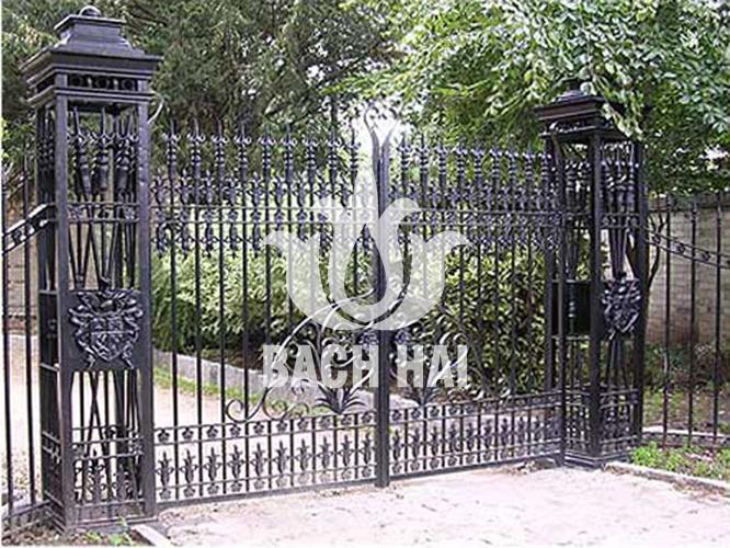 cửa cổng biệt thự sắt đặc ws-10226