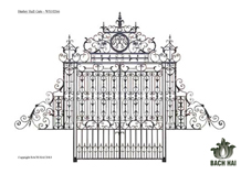 hurley hall gate - ws10266