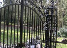cửa cổng biệt thự sắt nghệ thuật ws-10299