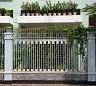 hàng rào sắt - sự lựa chọn lý tưởng cho không gian nhà bạn
